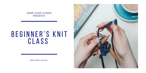 Join Debra Kinsey to create your own beginner knitted mug cosy