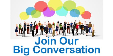 Big Conversation Event - Locality Redesign tickets
