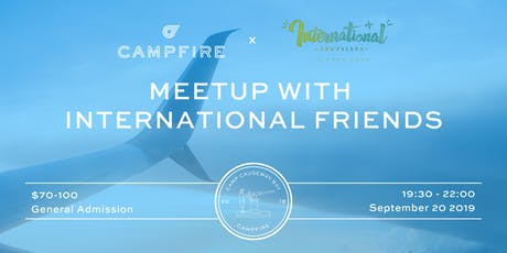Meetup with International Friends tickets