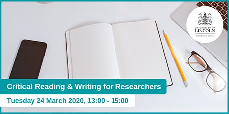 Critical Reading & Writing for Research Students tickets