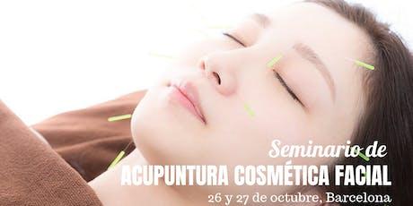 Seminario de acupuntura cosmética facial en Barcelona entradas