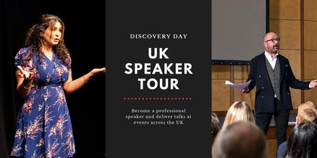 The UK Speaking Tour Challenge - Discovery Day tickets
