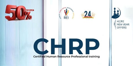 CHRP- Certified Human Resource Professional tickets
