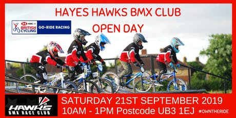 Hawks BMX Club Open Day - September 2019 tickets