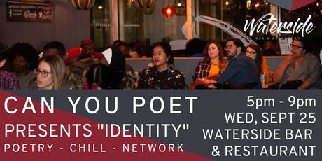 """Can You Poet Presents """"Identity"""" tickets"""
