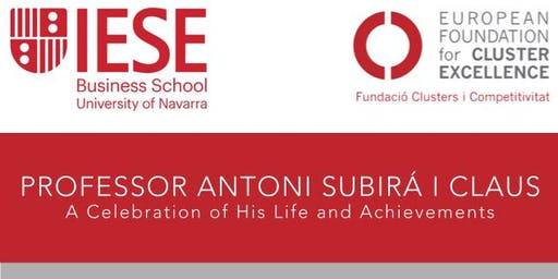Antoni Subirá - A Celebration of His Life
