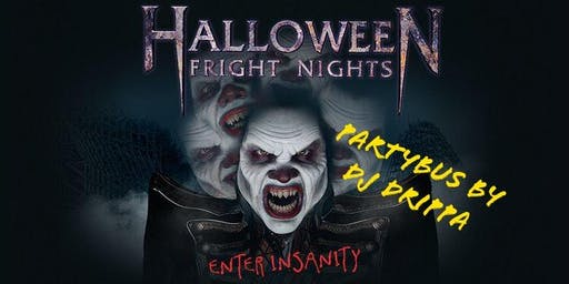 Partybus fright night by dj drippa