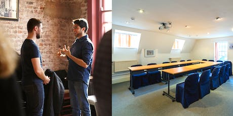 2 Day TRAINING - Speaking In Conversations On Your Terms & Building Your Offline Network tickets