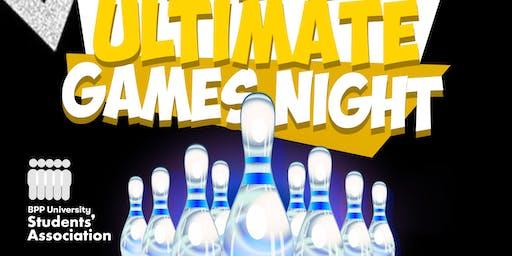 LONDON | Kingpin Bowling and Ultimate Games Night