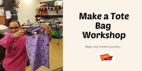 Make a Tote Bag Workshop tickets