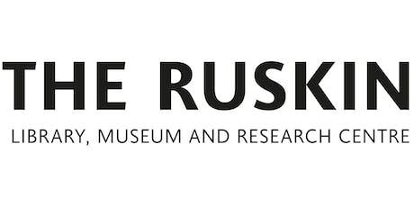 Ruskin Live: Mikimoto Lecture - Ruskin & Film tickets