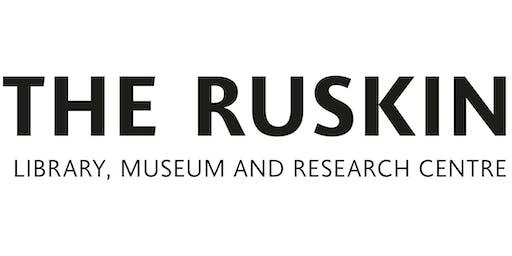 Ruskin Live: Mikimoto Lecture - Ruskin & Film