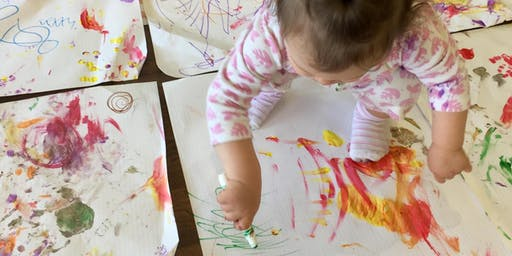 mini MESS - Messy Art for Babies & Toddlers, Autumn 2019 term
