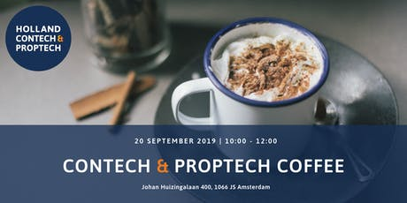ConTech & PropTech Coffee tickets
