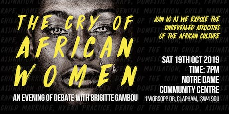 The Cry of African Women Book Launch - Walking Toward Cultural Freedom tickets