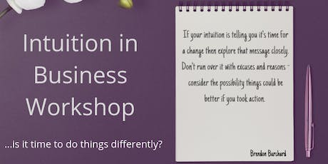 Intuition in Business tickets