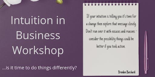 Intuition in Business