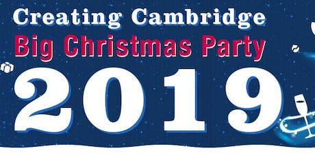 Creating Cambridge BIG Xmas Party 2019 tickets