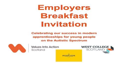Values Into Action Scotland's Employers Breakfast