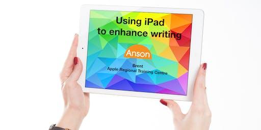 Apple Teacher Course 2: Using iPad to enhance writing