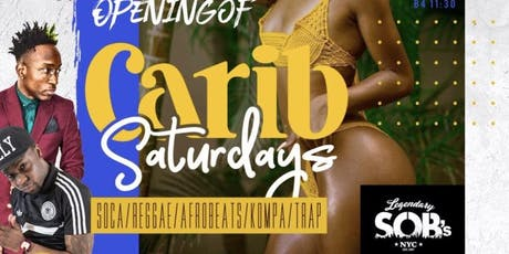 Caribbean Saturdays  tickets