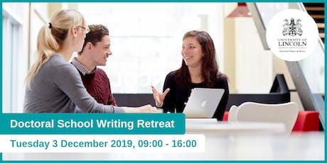 Doctoral School Writing Retreat tickets