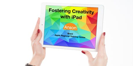 Apple Teacher Course 3: Fostering Creativity with iPad tickets