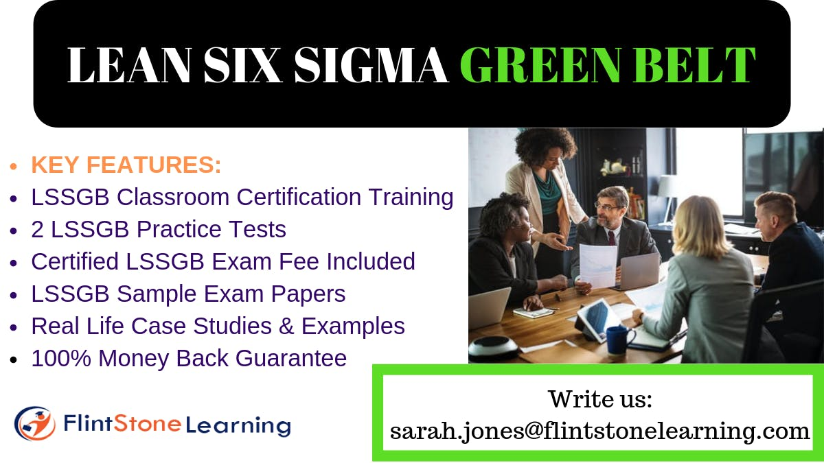 Lean Six Sigma Green Belt(LSSGB) Certification Training in Angels Camp, CA