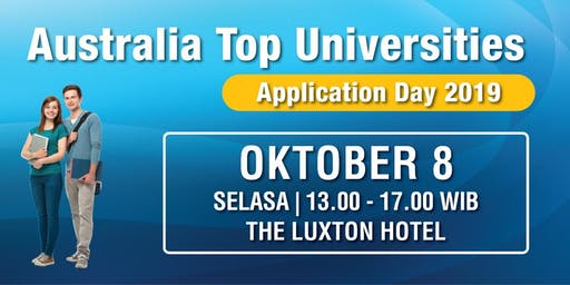 Australian Top Universities - Application Day 2019