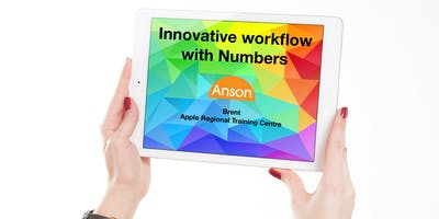 Apple Teacher Course 5: Innovative Workflow with Numbers