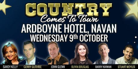 Country Comes To Town  @ The Ardboyne Hotel, Navan tickets
