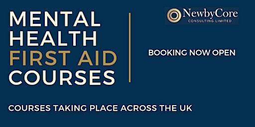 Mental Health First Aid Training - Glasgow