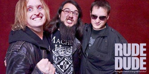 Rude Dude Live - mit SailorRats und Deaf-at-last -Schlosskeller Emmendingen