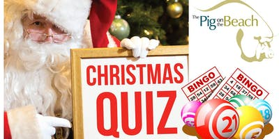 Christmas Quiz & Bingo - party night! Dinner and entertainment