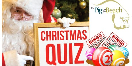 Christmas Quiz & Bingo - party night! Dinner and entertainment tickets