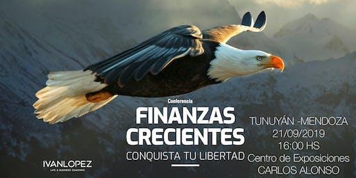 Conferencia FINANZAS CRECIENTES TUNUYÁN