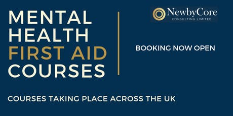 Mental Health First Aid Training - Glasgow (Weekend Course) tickets