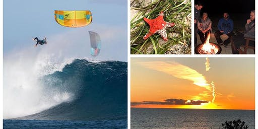 Introduction to Kite Surfing, chill after with great wines and a BBQ
