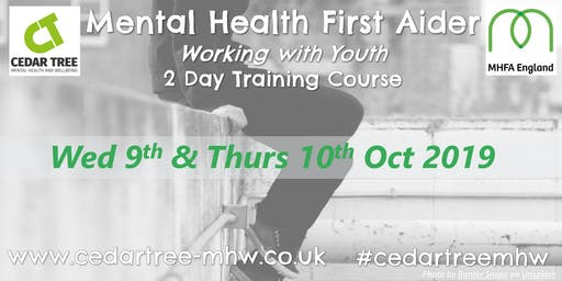 Mental Health First Aid (Youth) - 2 Day course - Winchester