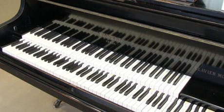 Pianos in Stereo tickets