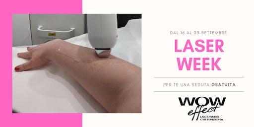 LASER WEEK - UNA SEDUTA GRATUITA
