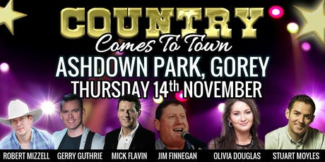 Country Comes To Town @ Ashdown Park, Gorey tickets