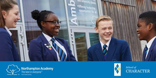 Northampton Academy Year 6 Open Evenings for Year 7 September 2020 Intake.