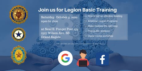 Legion Basic Training and Digital Media Workshop tickets