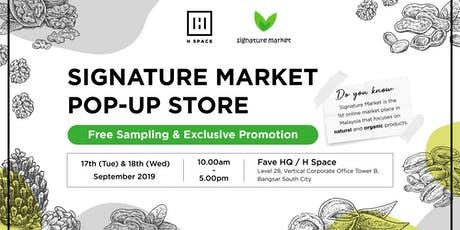 BANGSAR SOUTH Organic & Healthy Product Pop-Up Store tickets