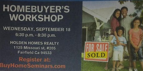 Workshop for First Time Homebuyers/Sellers/Refinance tickets