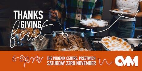 CVM Thanksgiving Feast tickets