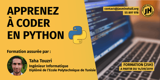 Formation Python (25 heures)