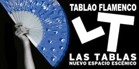 Espectáculo Flamenco Las Tablas - Octubre entradas