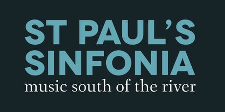 St Paul's Sinfonia June 2020 concert tickets